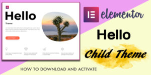 Elementor Hello Child Theme