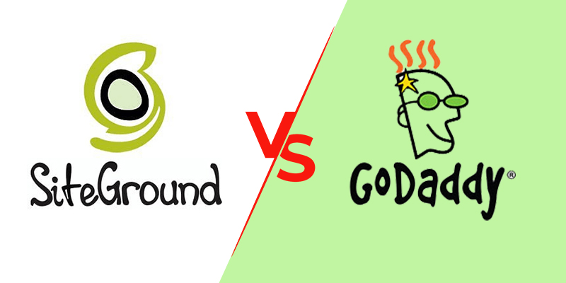 SiteGround VS GoDaddy | Web hosting comparison | Speed test report 2019