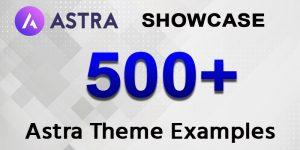 500+ Astra Theme Examples | Astra Theme Showcase