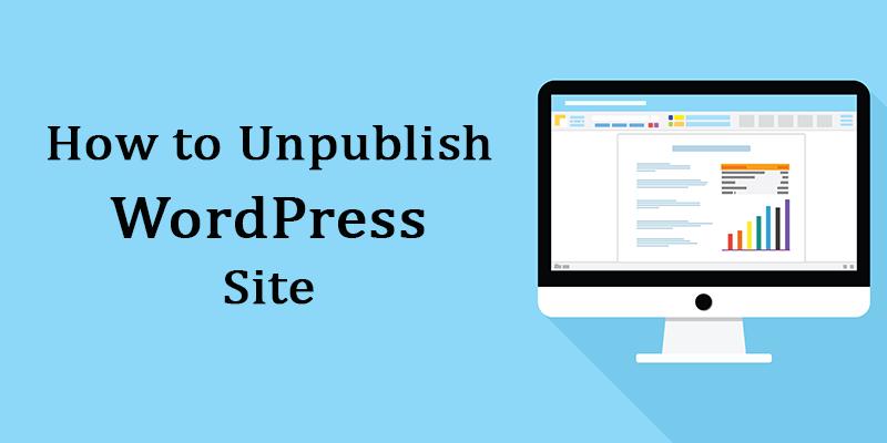 How-to-Unpublish-WordPress-site