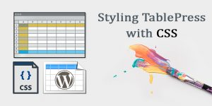 tablepress css styling