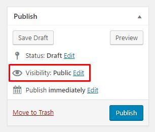 how to unpublish wordpress site 4