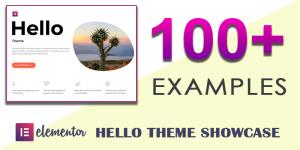 Elementor Hello Theme Examples