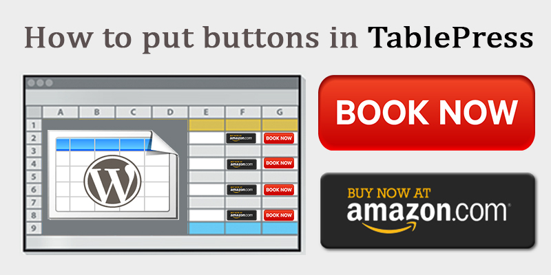 buttons in tablepress